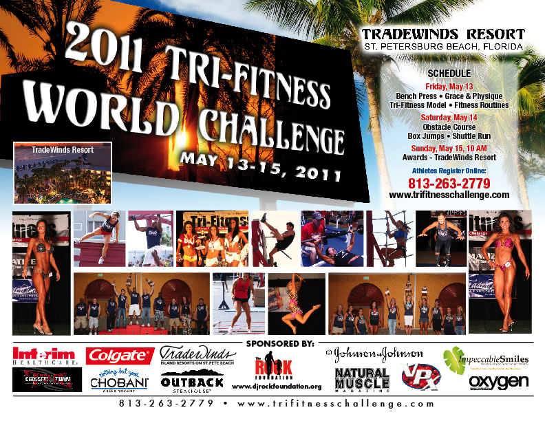 Official schedule of events for May 2011 T.F.C World Challenge weekend!