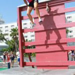 Obstacle Course wall - fear no obstacles at the World Tri-Fitness Championships