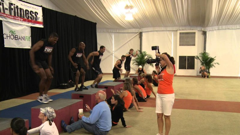 Box Jumps @ Tri-Fitness National Challenge 10-22-2011