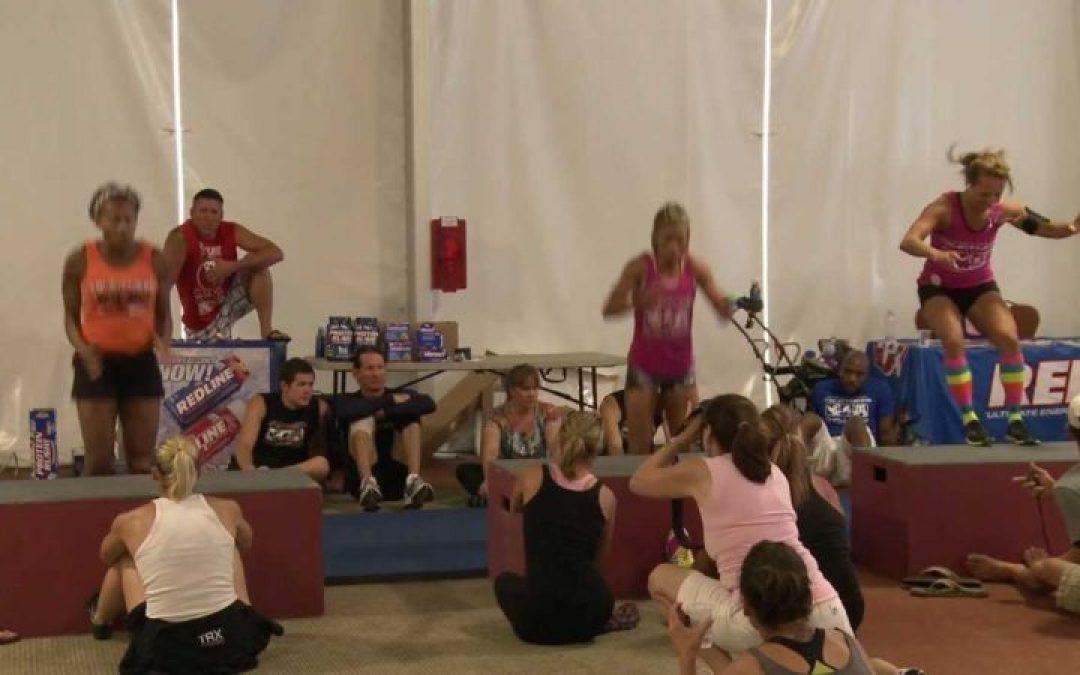 Box Jumps – World Challenge 2012