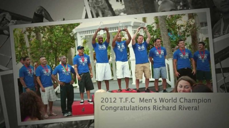 Tough competition at the Men's 2012 Tri-Fitness World Challenge-Richard from Texas is crowned new World Champion!