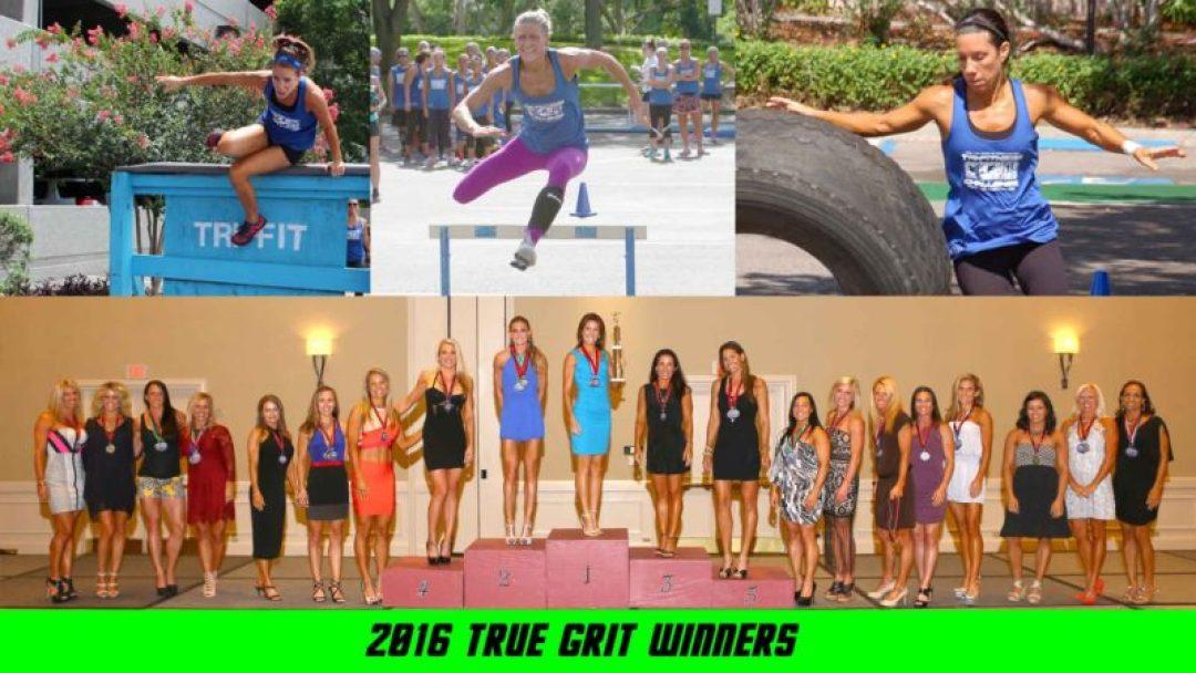 True Grit Obstacle Course winners
