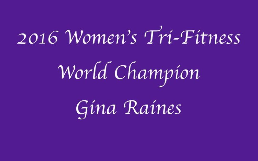 2016 Tri-Fitness Overall- Gina Raines