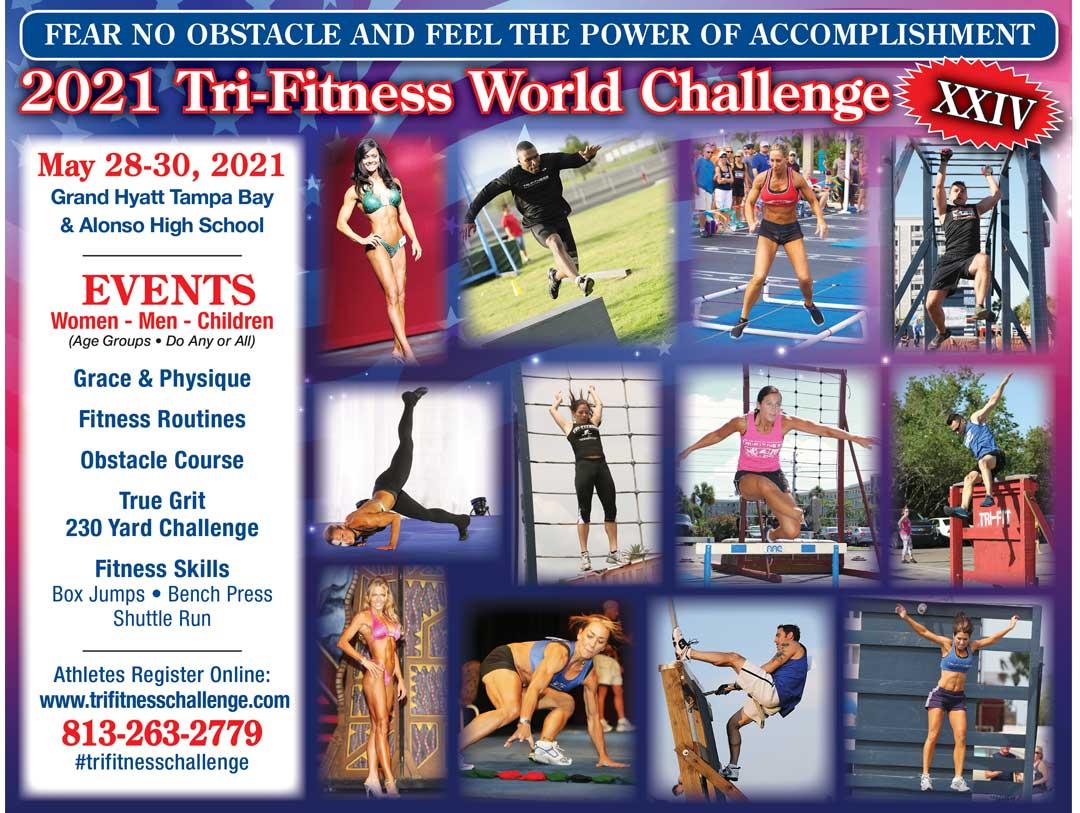 2021 Tri-Fitness World Challenge - May 28-30, 2021