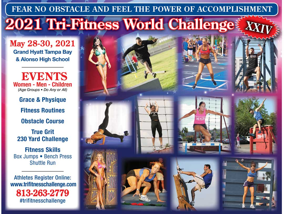 2021 Tri-Fitness World Challenge - May 28-30, 2021