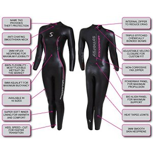 Synergy Endorphin Women's Wetsuit Review Specs