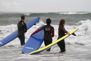 Surfing Sligo