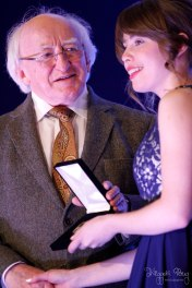 President Michael D. Higgins at the Gaisce 2014 Gold Awards