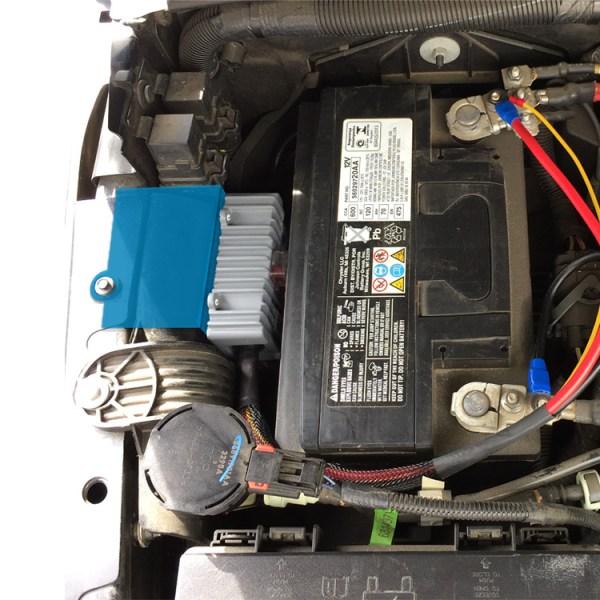 trigger controller jeep JK inner fender bracket 2011 installed