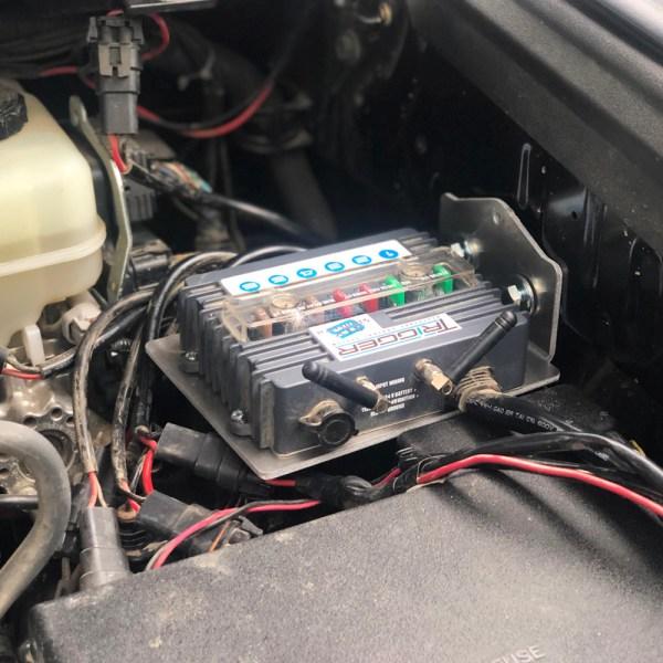 trigger controller Toyota 4Runner underhood bracket 2018 installed 02