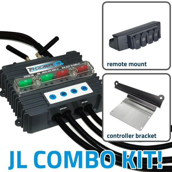 TRIGGER 4 PLUS Jeep JL-JT Combo Kit