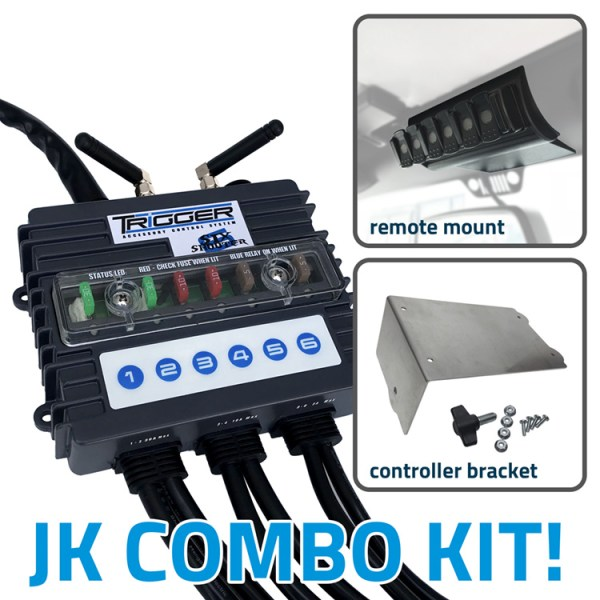 TRIGGER 6 SHOOTER Jeep JK Combo Kit