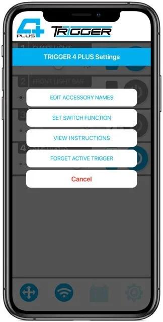 trigger controller trigger plus app voltage