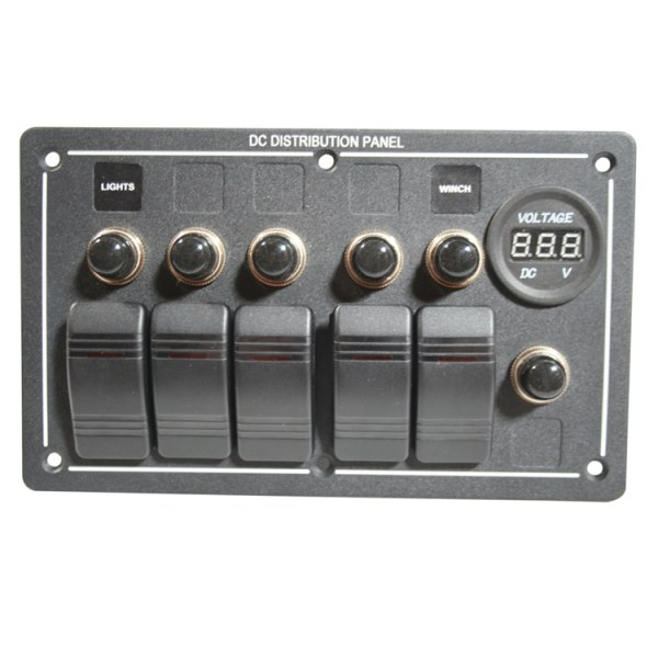 Rocker Switch Panel 5-Switch
