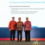 Pontianak Raih 2 Penghargaan Top Digital Award 2019