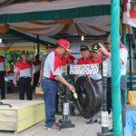 Yohanes Ontot Hadiri KOSN dan FLS2N Kecamatan Jangkang