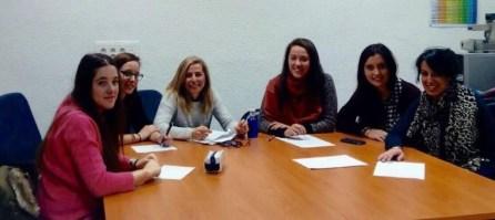 Sesión de seguimiento. Grupo de mentoras de la ETSEM.