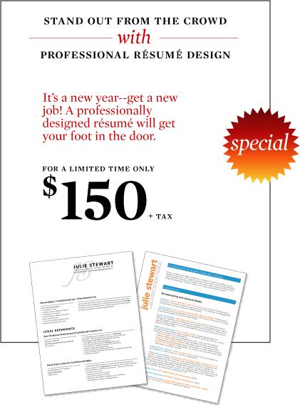 Resume Design Special