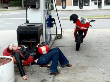 Gas-nap