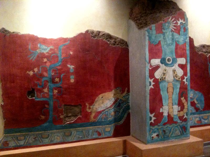 Aztec (I think) imagery