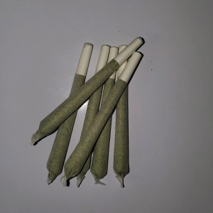 Cannabis prerolled joint