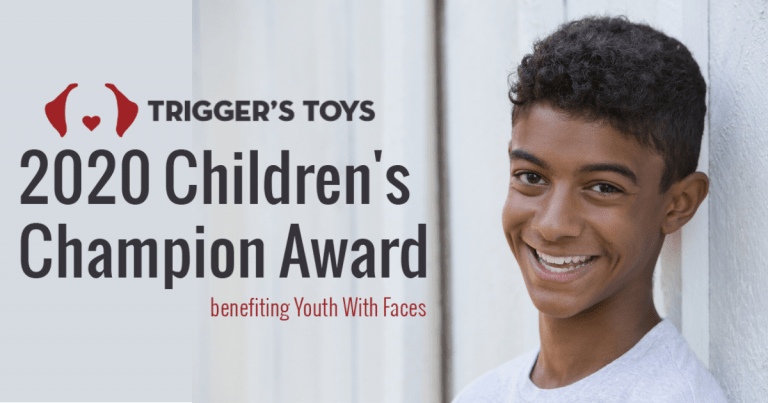 Our 2020 Children's Champion Award goes to Youth with Faces!