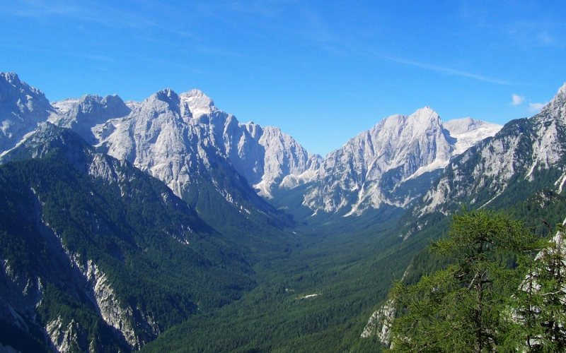 Eco-friendly accommodation in Julian Alps