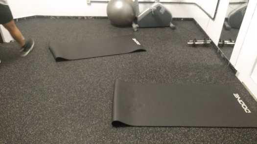 Gomas para suelo de gimnasio