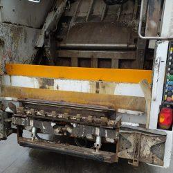Tira de goma para camión basura