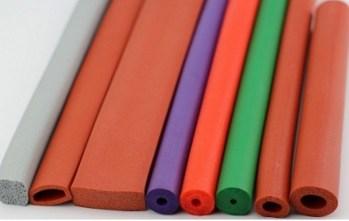 perfiles de esponja de silicona