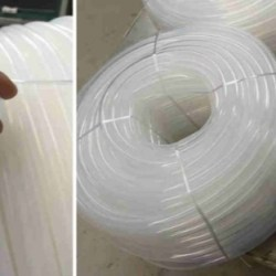 Tubo de caucho de silicona FDA