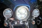 """☆★早速に新型LEDヘッドライト 7.0""""を取り付けです ( ̄- ̄)ゞ★☆"""