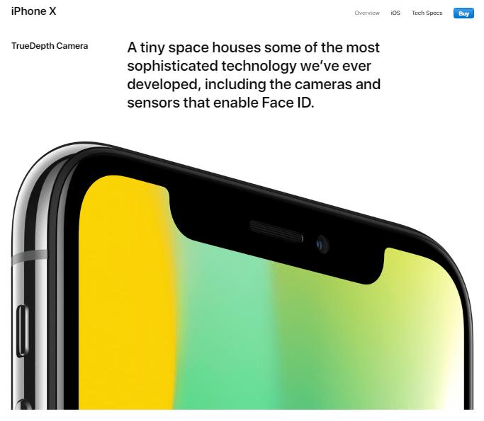 Contoh Benefit iPhone X