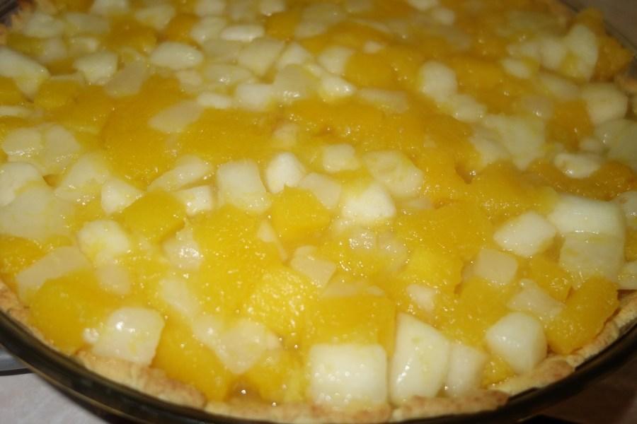 Tarta dyniowo-gruszkowa (bez cukru)