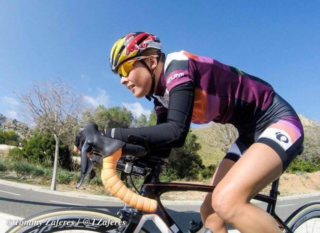 Rachel Klamer bike Tommy Zaferes