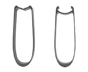 Tubular (til venstre), Clincher (til højre)