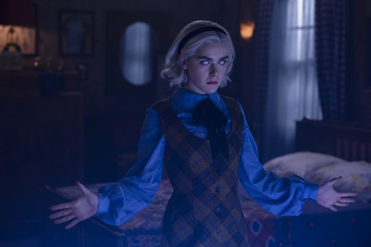 Chilling Adventures of Sabrina O Mundo Sombrio de Sabrina cancelada