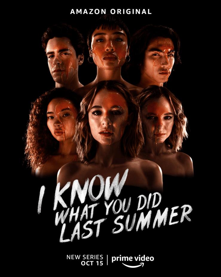 """Veja o primeiro pôster de """"Eu Sei o que Vocês Fizeram no Verão Passado"""", nova série do Amazon Prime Video"""