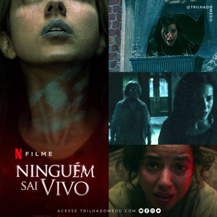 """Terror sobrenatural """"Ninguém Sai Vivo"""" estreia hoje na Netflix"""