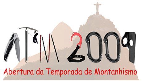 Abertura da temporada de montanhismo de 2009 no Rio de Janeiro será dia 26 de abril