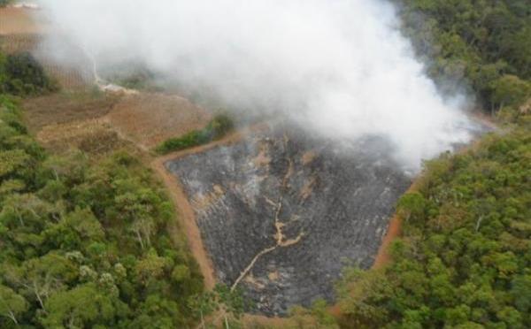 Cinco pessoas são multadas por incêndios criminosos no entorno do parque dos Três Picos