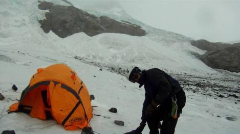 05-2 Acampamento no Glaciar Marconi