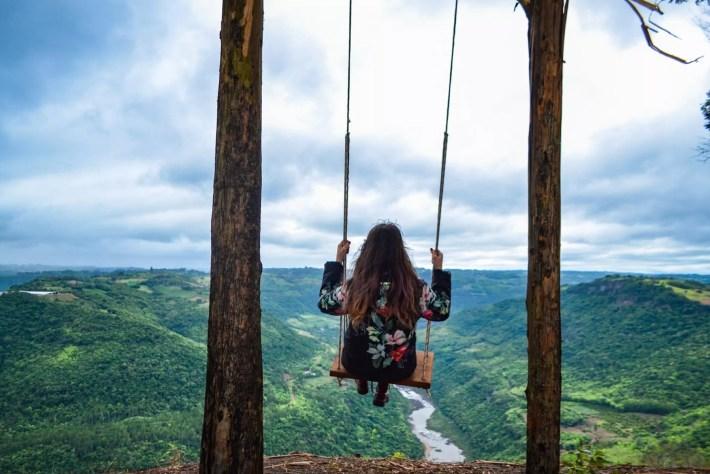 Balanço no Pico do Monte Claro