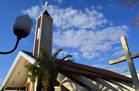 Igreja no centro de Janiópolis