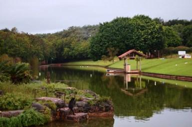 Parque do lago de Boa Esperança -PR