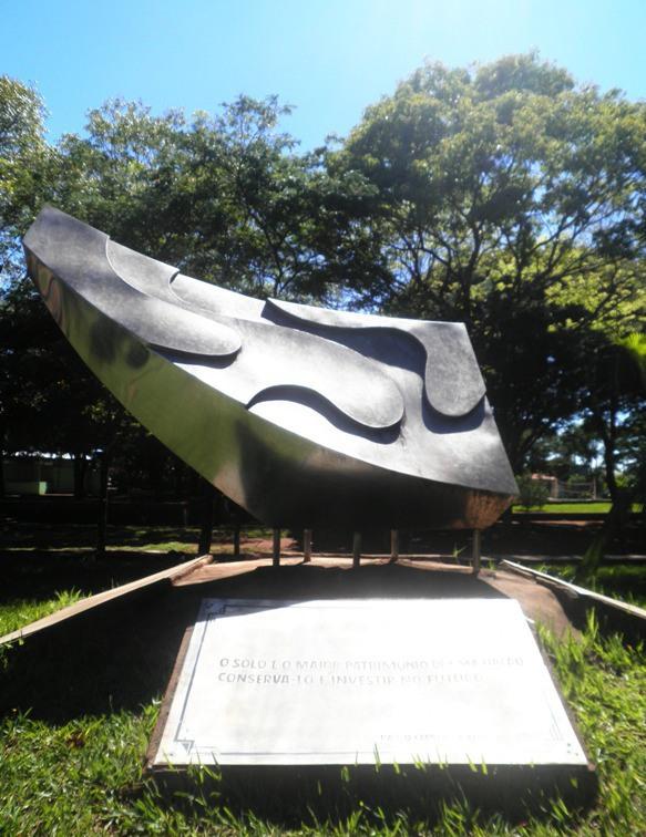 Praça do Fórum em Campo Mourão- PR