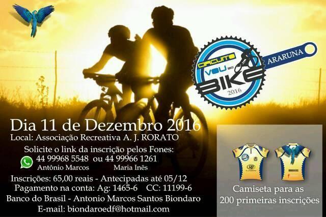 Evento- vou de bike