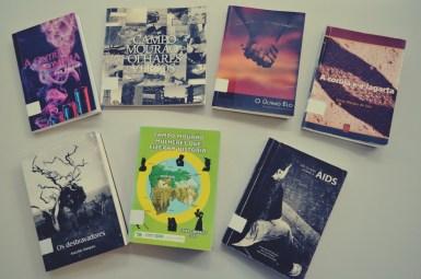 Livros da Biblioteca de Campo Mourão