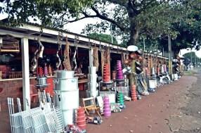Comércio popular em Peabiru