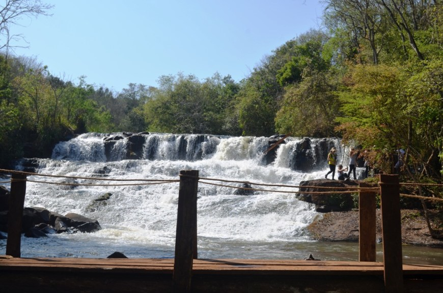 Cachoeira em Luizana
